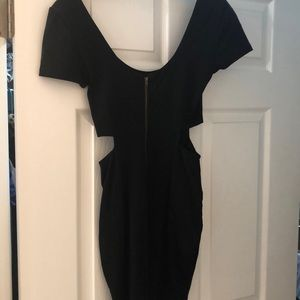 Lucca Couture Dresses - Black dress with cutouts